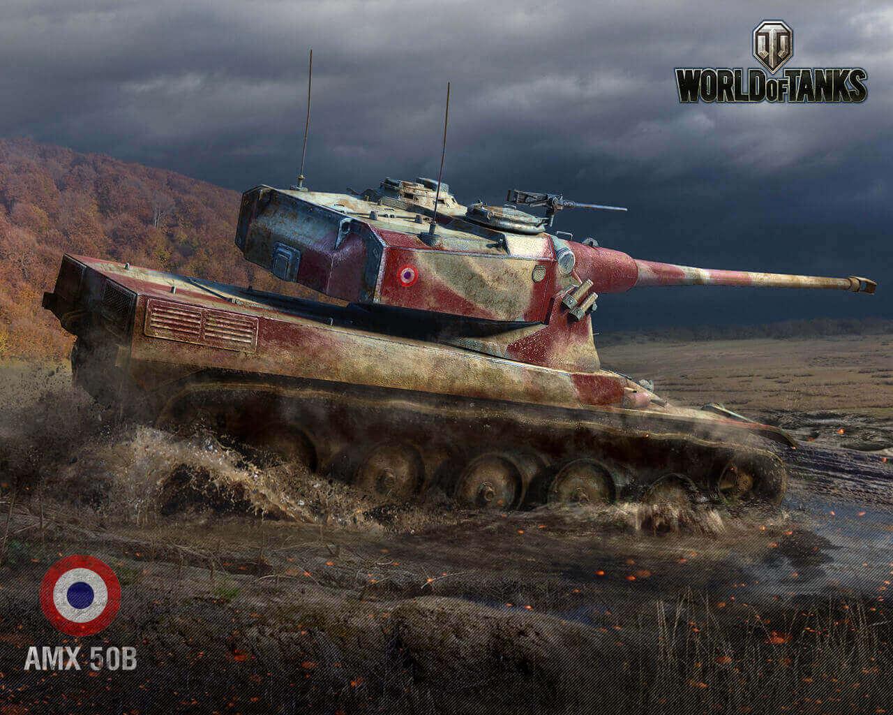 AMX 50B Posters