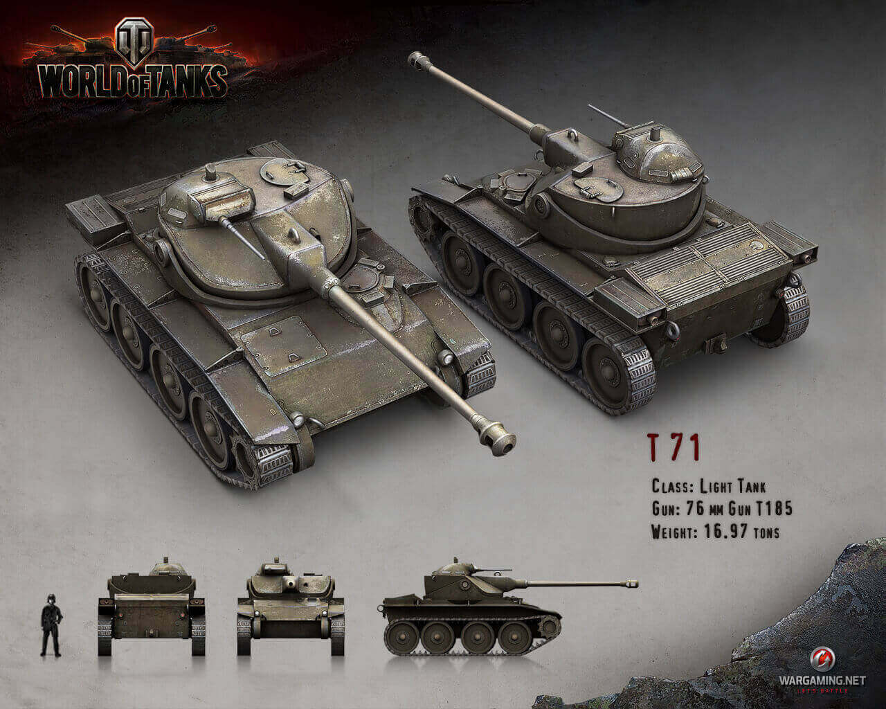 what did you do to the t71 wargaming? - general discussion