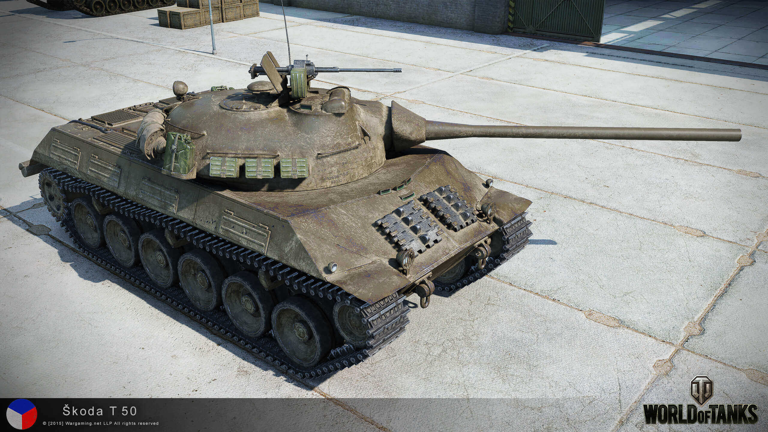T3476 Tank Pulled Out Of River